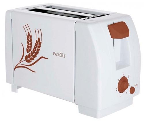 Тостер Smile TA 1840Тостеры и минипечи<br><br><br>Тип: тостер<br>Тип управления: Механическое<br>Количество отделений: 2<br>Количество тостов: 2