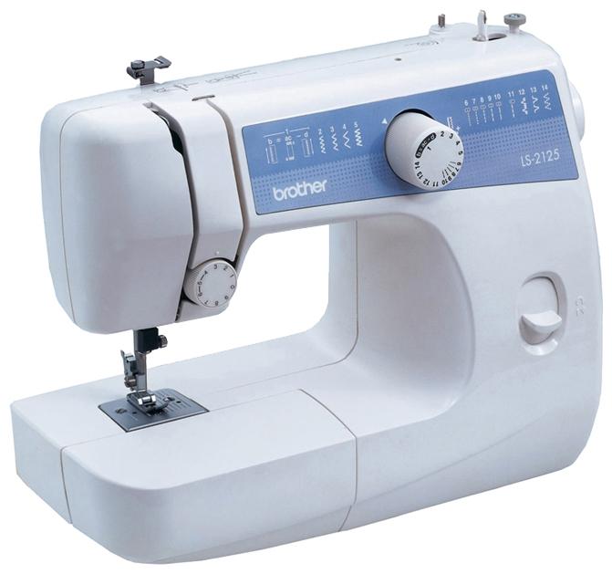Швейная машина Brother LS-2125Швейные машины<br><br><br>Тип: электромеханическая<br>Количество швейных операций: 14<br>Выполнение петли: полуавтомат<br>Потайная строчка : есть<br>Эластичная строчка : есть<br>Эластичная потайная строчка: есть<br>Кнопка реверса: есть<br>Рукавная платформа: есть<br>Отсек для аксессуаров : есть
