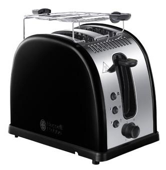 Тостер Russell Hobbs 21293-56 BlackТостеры и минипечи<br><br><br>Тип: тостер<br>Мощность, Вт.: 1300<br>Тип управления: Механическое<br>Количество отделений: 2<br>Количество тостов: 2