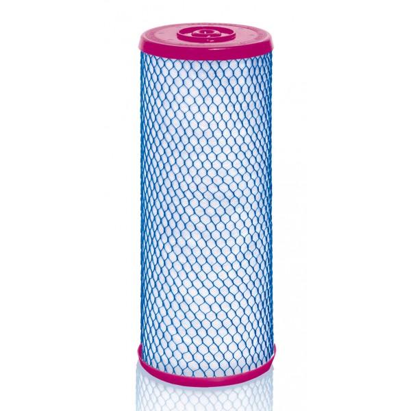 Сменный модуль для фильтра Аквафор В505-13Фильтры и умягчители для воды<br>Сменный модуль Аквафор В505-13 для очистки холодной воды во всем доме системой Викинг Мини.<br><br>Благодаря уникальному коаксиальному строению и градиентной пористости модуля, вода очищается от взвесей и других загрязнителей, в т.ч. хлора, при незначительном снижении давления в водопроводе.<br><br>- Очищает холодную воду от вредных примесей<br>- Препятствует образованию ржавчины на сантехнике<br>- Убирает запах и делает воду прозрачной<br>- Делает прием душа и ванны приятнее<br>