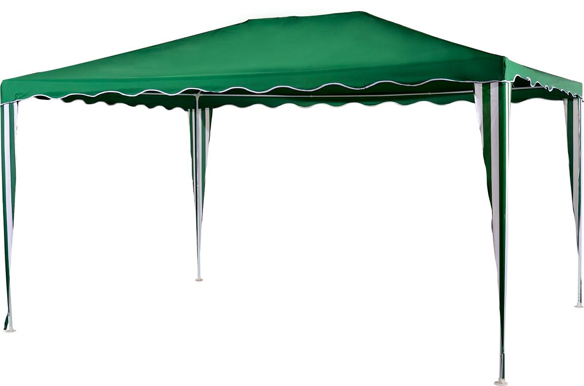 Садовый тент-шатер Green Glade 1029Садовые тенты и шатры<br>Тент шатер green glade 1029 изготавливаются из современных высококачественных материалов, дачный тент шатер 1029 защитит вас и от яркого летнего солнца. Современный садовый тент шатер green glade быстро и легко устанавливаются, имеют великолепный внешний вид.<br><br>Кемпинговый тент шатер оптимален для проведения мероприятий на открытом воздухе. Если вы решили провести пикник на свежем воздухе, вы сможете без труда установить шатер green glade 1029 на любой ровной площадке. Этот тент шатер можно брать с собой на отдых в лесу – в сложенном виде он не занимает много места...<br><br>Тип: Садовый тент-шатер<br>Покрытие: полиэстер 120 г<br>Каркас: металлическая трубка (19х19х25 мм)<br>Размеры упаковки: 112х14х14 см