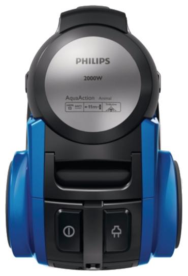 Пылесос Philips FC 8952/01Пылесосы<br><br><br>Тип: Пылесос<br>Потребляемая мощность, Вт: 2000<br>Мощность всасывания, Вт: 220<br>Тип уборки: Сухая<br>Регулятор мощности на корпусе: Нет<br>Турбощётка в комплекте: Есть<br>Фильтр тонкой очистки: Есть<br>Пылесборник: Аквафильтр