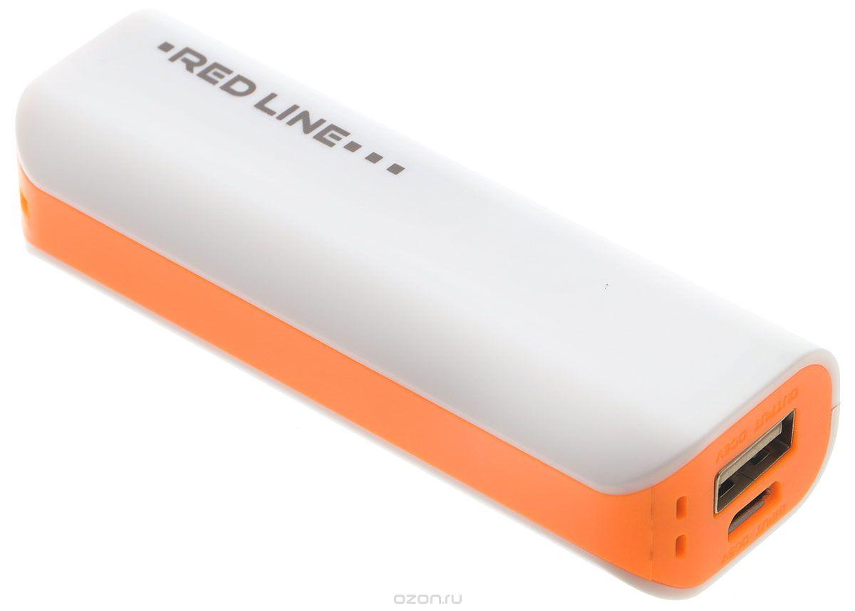 Универсальный внешний аккумулятор Red Line R-3000 Orange