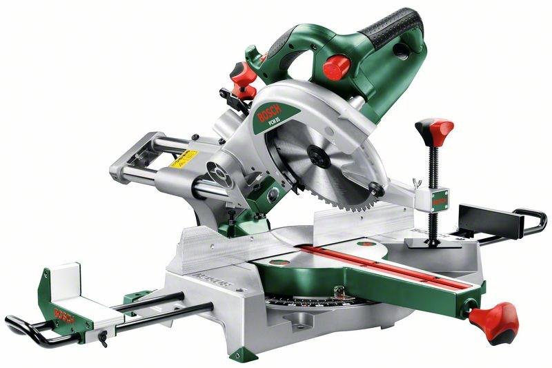 Торцовочная пила Bosch PCM 8S [0603B10100]Пилы<br><br><br>Тип: торцовочная<br>Конструкция: настольная<br>Мощность, Вт: 1.200<br>Дополнительно: продольное удлинение стола. Рукоятка с мягкой накладкой. Функция сдвигания/раздвигания стола. Встроенная подсветка. Проекция лазерного луча на линию пропила