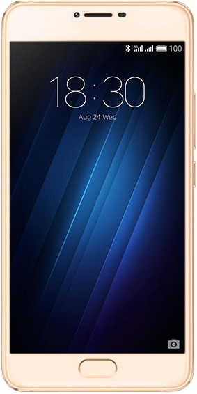 Мобильный телефон Meizu U10 16Gb (U680H-16-G) GoldМобильные телефоны<br><br>