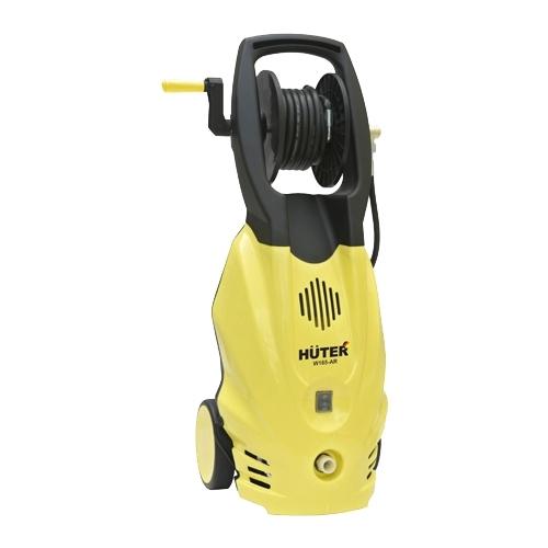 Мойка высокого давления Huter W165-ARМойки высокого давления<br>- Конструкция мойки высокого давления Huter W165-AR содержит встроенный барабан для удобного хранения пятиметрового выходного напорного шланга.<br>- Патрубок для входной воды расположен снизу, что удобно для подключения и не нарушает вертикальную устойчивость агрегата.<br>- Перемещению мини-мойки вручную помогают удобная и прочная рукоять, а так же пара колес в нижней части корпуса.<br>- Нагнетательная помпа выполнена из металла, что делает её долговечной и надежной.<br>- В комплекте имеется удлинительная трубка для водяного пистолета с регулируемым поворотным...<br><br>Давление, Бар: 165<br>Производительность, л/час: 375<br>Потребляемая мощность: 1.9 кВт<br>Напряжение сети: 220/230 В<br>Шланг ВД: способ хранения: катушка