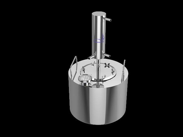 Самогонный аппарат Феникс Турбо 20 литровСамогонные аппараты Феникс<br>Самогонный аппарат Турбо входит в линейку самых производительных и универсальных аппаратов, что гарантирует очень быстрый и удобный процесс самогоноварения. Полученный продукт вызовет положительные эмоции и восхищение.<br>Тубро - идеальное сочетание по критерию цена-качество и содержит в себе самые необходимые характеристики для профессионального старта в самогоноварении.<br>Еще одним достоинством является устойчивость к кислотам стали, из которой изготовлен дистиллятор. Это значит, что агрессивная среда, которая находится в браге, не повредит...<br>
