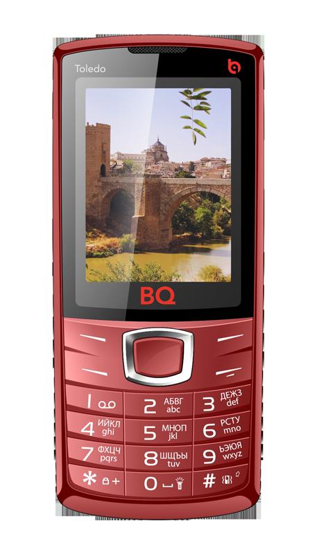 Мобильный телефон BQ BQM-2406 Toledo RedМобильные телефоны<br><br>
