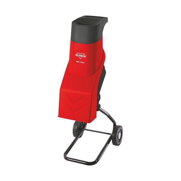 Измельчитель Elitech ИВС 2400Измельчители садовые<br>ELITECH ИВС 2400 предназначен для измельчения веток и сучьев садовых деревьев, а также стволов молодых деревьев толщиной не более 40 мм.<br><br>- Мощный двигатель <br>- Защита от включения при открытой крышке доступа к ножам <br>- Удобная загрузочная воронка <br>- Режущие ножи из закаленной стали <br>- Защита от перегрузки двигателя<br><br>Комплектация:<br>- Измельчитель<br>- Подставка<br>- Колеса &amp;#40;2шт&amp;#41;<br>- Толкатель<br>- Руководство по эксплуатации<br><br>Потребляемая мощность, Вт: 2400<br>Макс. ? ветвей: 40 мм