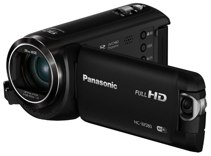 Видеокамера Panasonic HC-W580EE-K DUAL CAMВидеокамеры<br><br><br>Тип: Flash<br>Поддержка видео высокого разрешения (Full HD): Есть<br>Максимальное разрешение видеосъемки: 1920x1080<br>Тип карты памяти: SD/SDHC/SDXC<br>Видоискатель: Отсутствует<br>Фоторежим: Есть<br>Число мегапикселов при фотосъемке Мпикс: 2.2 Мпикс<br>Широкоформатный режим фото: Есть