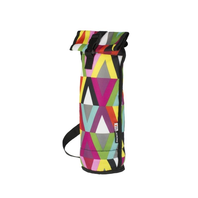 Термосумка Packit 21 Double Wine CoolerТермосумки<br>Сумка для вина PackIt Double Wine Cooler выполнена из 100% полиэстера &amp;#40;PVC- &amp; BPA free&amp;#41;. Сумка обладает изотермическими свойствами. Внутрь вшит специальный охлаждающий гель, который способен сохранить холод до 6 часов &amp;#40;в зависимости от внешней температуры&amp;#41;. Поэтому в такой сумке можно хранить бутылки с вином и другими напитками<br><br>Тип: термосумка<br>Объем, л: 1<br>Материал: полиэстер<br>Сохранение температурного режима: до 6 ч