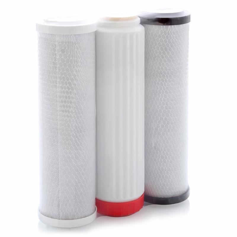 Комплект сменных фильтров АКВАФОР В510-0304-07Фильтры и умягчители для воды<br><br><br>Тип: комплект сменных фильтров