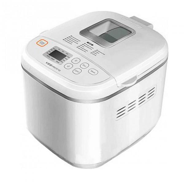 Хлебопечка VES SK-A17Хлебопечки<br><br><br>Тип: Хлебопечь<br>Максимальный вес выпечки, г: 1000<br>Мощность, Вт: 500<br>Регулировка веса выпечки: Есть<br>Выбор цвета корочки: Есть<br>Таймер: Есть<br>Поддержание температуры: Есть<br>Диспенсер: Нет<br>Запас памяти при сбое электропитания, мин: 10