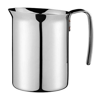 Кувшин для молока Bialetti 300 мл 1802Аксессуары для кофемашин<br>Практичный и удобный кувшинчик для взбивания молока выполнен из нержавеющей стали. Удобная ручка.<br><br>Тип: кувшин<br>Описание: стальной