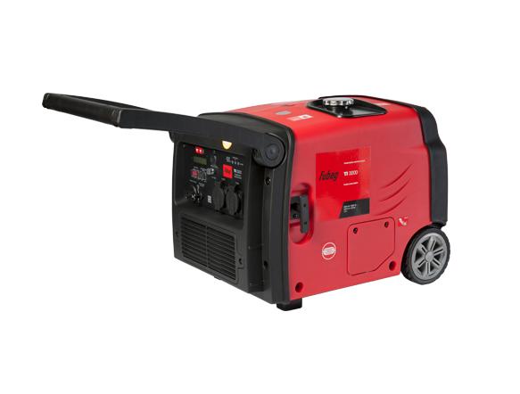 Электрогенератор FUBAG TI 3200Электрогенераторы<br>Источник электроэнергии для электроснабжения торговых объектов, для работ на стройке или в качестве резервного электроснабжения летнего дома. За счет бака 7,8 л может непрерывно работать 4,5 часа. Шумозащитный корпус значительно снижает шум двигателя.<br><br>Особенности:<br>- профессиональный OHV-двигатель FUBAG;<br>- цифровой дисплей;<br>- система перевода двигателя в экономичный режим;<br>- защиты от перегрузки, низкого уровня масла и короткого замыкания;<br>- автоматический декомпрессор;<br>- шумозащитный кожух;<br>- колеса и ручки - в комплекте;<br>- розетка на 12 В и 2 розетки 220...<br><br>Тип электростанции: бензиновая, инверторная<br>Тип запуска: ручной<br>Число фаз: 1 (220 вольт)<br>Мощность двигателя: 5.4 л.с.<br>Тип охлаждения: воздушное<br>Объем бака: 7.8 л<br>Класс защиты генератора: IP23<br>Активная мощность, Вт: 2800<br>Звукоизоляционный кожух: есть<br>Защита от перегрузок: есть