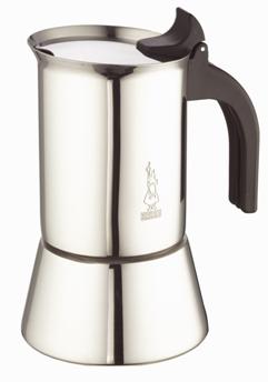 Кофеварка Bialetti Venus Elegance 1683Кофеварки и кофемашины<br><br><br>Тип : гейзерная кофеварка<br>Тип используемого кофе: Молотый<br>Материал корпуса  : Металл