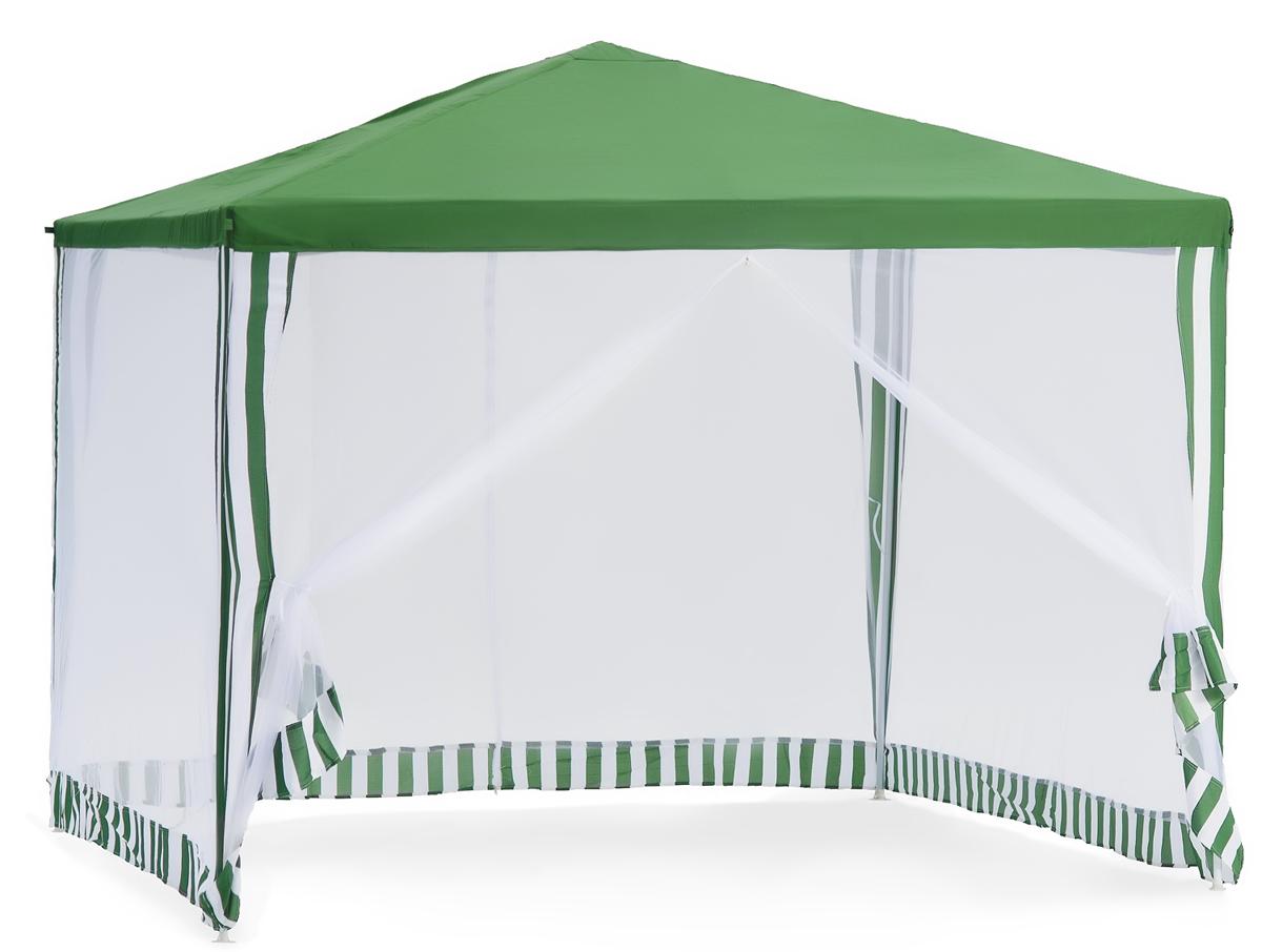 Садовый тент-шатер Green Glade 1028Садовые тенты и шатры<br>Тент шатер green glade 1028 изготавливаются из современных высококачественных материалов, дачный тент шатер 1028 защитит вас и от яркого летнего солнца. Современный садовый тент шатер green glade быстро и легко устанавливаются, имеют великолепный внешний вид. Беседка тент шатер для дачи 1028 имеет в комплектации москитную сетку – она позволит спокойно отдыхать, не обращая внимания на комаров, мух и прочих назойливых насекомых, которые так часто досаждают летом.<br><br>Кемпинговый тент шатер оптимален для проведения мероприятий на открытом воздухе. Если вы решили...<br><br>Тип: Садовый тент-шатер<br>Покрытие: сетчатый полиэтилен 115 г<br>Каркас: металлическая трубка (19х19х25 мм)<br>Размеры упаковки: 115х18х23 см.