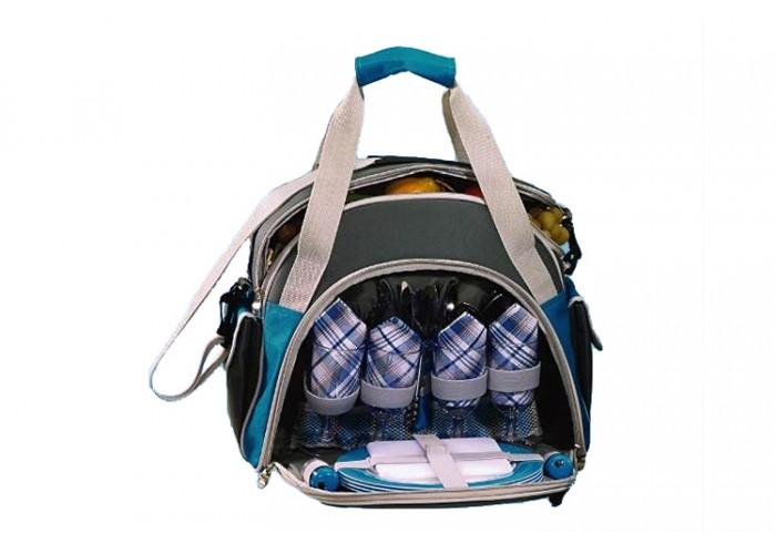 Набор для пикника Green Glade Т3207Наборы для пикника<br>Сумка для пикника с изотермическим отделением на 10 литров и набором посуды на 4 персоны. Набор для пикника Green Glade Т3207 выполнен в форме сумки. Его удобно брать в путешествие, поход или на дачу. Данный набор поможет по-домашнему организовать отдых на природе.<br><br>- Изотермическая сумка-холодильник, 10л.; материал-полиэстер.<br>- Ножи, нержавеющая сталь, пластиковые ручки-4шт.<br>- Вилки, нержавеющая сталь, пластиковые ручки-4шт.<br>- Бокалы пластиковые-4шт<br>- Чашки пластиковые-4шт.<br>- Тарелки пластиковые-4шт.<br>- Салфетки хлопковые-4шт.<br>- Солонка-1шт.<br>- Перечница-1шт.<br>- Складной...<br><br>Тип: набор для пикника<br>Количество персон: 4