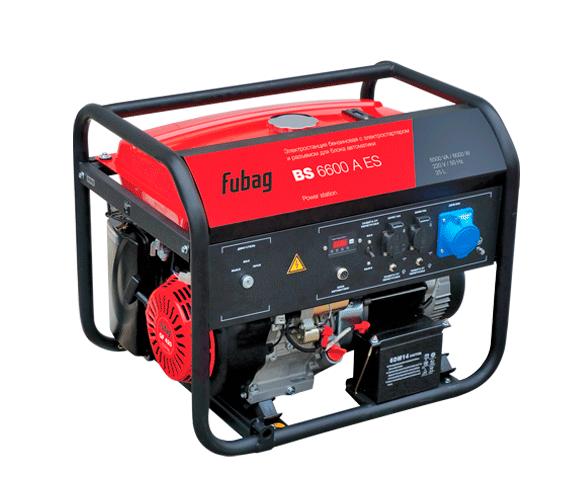 Электрогенератор FUBAG BS 6600 A ES