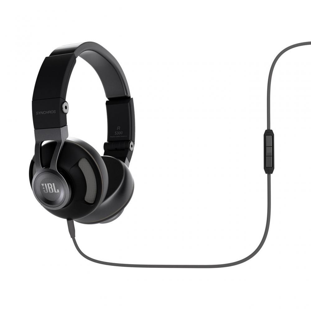Гарнитура JBL Synchros S300IBNGНаушники и гарнитуры<br><br><br>Тип: наушники<br>Вид наушников: Накладные<br>Тип подключения: Проводные<br>Диапазон воспроизводимых частот, Гц: 10 - 22000<br>Чувствительность дБ: 115<br>Микрофон: есть