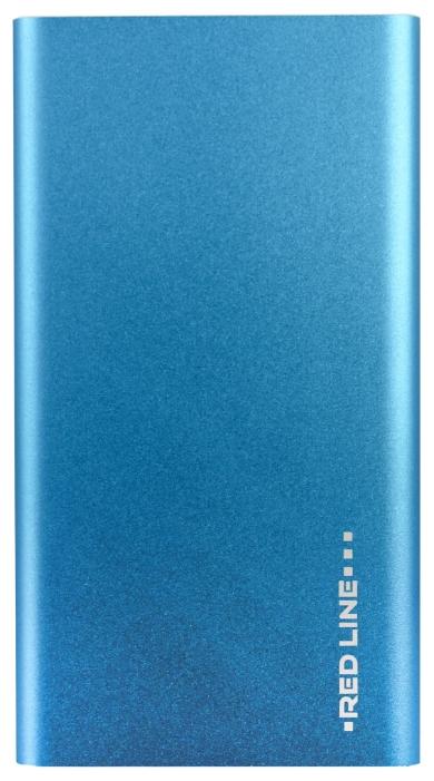 Универсальный внешний аккумулятор Red Line J01 BlueУниверсальные внешние аккумуляторы<br><br>
