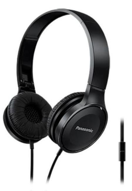 Наушники Panasonic RP-HF100MGCKНаушники и гарнитуры<br>Наушники с амбушюрами HF100 имеют компактную конструкцию и легко носятся. 30-миллиметровые динамики воспроизводят поистине мощный звук. Эти наушники имеют малый вес и крепкую конструкцию и помогут вам слушать музыку где угодно. Модель HF100 имеет складную конструкцию, благодаря которой их можно свободно переносить в компактном виде. Совместимы с устройствами iPhone, BlackBerry и Android. С помощью наушником можно слушать музыку со смартфона, а также можно активировать функцию звонком, чтобы использовать микрофон для телефонных разговоров.<br><br>Тип: гарнитура<br>Тип акустического оформления: Закрытые<br>Тип подключения: Проводные<br>Номинальная мощность мВт: 1000<br>Диапазон воспроизводимых частот, Гц: 10-23000<br>Сопротивление, Импеданс: 26 Ом<br>Чувствительность дБ: 103<br>Микрофон: есть<br>Крепление микрофона: на проводе
