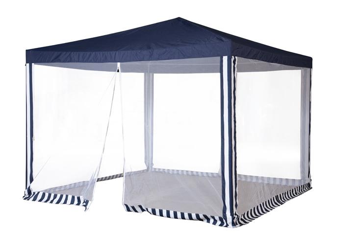Садовый тент-шатер Green Glade 1086Садовые тенты и шатры<br>Садовый тент шатер Green Glade 1086 - это один из необходимых предметов для комфортного отдыха на природе и это не удивительно. Ведь с его помощью можно быстро создавать комфортные условия на открытом воздухе. Тент эффективно защищает от яркого солнца и дождя. Материал шатра изнутри имеет прорезиненную основу. Он позволяет наслаждаться отдыхом без надоедливых комаров и других летающих насекомых.<br><br>Тип: Садовый тент-шатер<br>Покрытие: полиэстер 160 г. с водоотталкивающей пропиткой<br>Каркас: металлическая трубка (19х19х25 мм)<br>Размеры упаковки: 115х17х23 см.