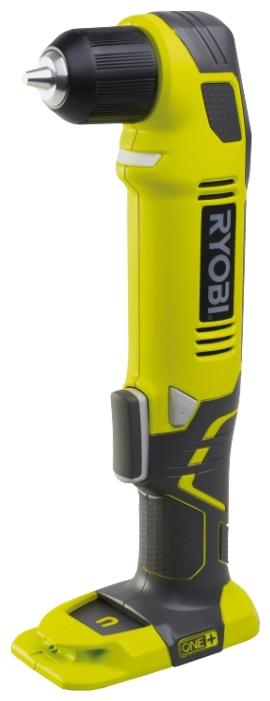 Дрель-шуруповерт Ryobi ONE+ RAD1801M (3001166)Дрели, шуруповерты, гайковерты<br>Угловая дрель Ryobi ONE&amp;#43; RAD1801M используется для сверления отверстий и закручивания оснастки в ограниченном пространстве. В качестве источника питания выступают аккумуляторы с напряжением 18 В. В основании корпуса находится магнитная площадка, которая позволяет держать шурупы и биты под рукой в процессе работы. Для простой и безопасной замены оснастки конструкцией инструмента предусматривается автоматическая блокировка шпинделя.<br><br>Система Ryobi One&amp;#43; позволяет использовать всего один блок питания для целого арсенала аккумуляторного инструмента....<br><br>Тип: дрель-шуруповерт<br>Тип инструмента: ударный<br>Тип патрона: быстрозажимной<br>Количество скоростей работы: 1<br>Питание: от аккумулятора<br>Тормоз двигателя: есть<br>Возможности: реверс, фиксация шпинделя, электронная регулировка частоты вращения<br>Съемный аккумулятор: есть