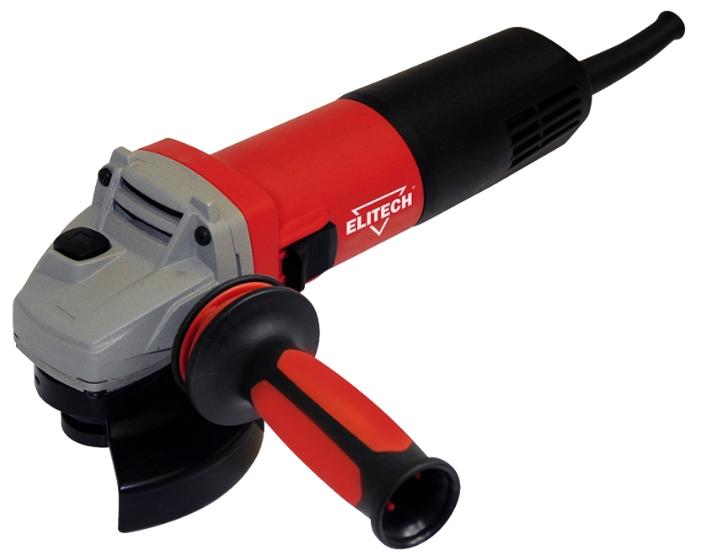 Угловая шлифмашина Elitech МШУ 0812Шлифовальные и заточные машины<br>Угловая шлифмашина Elitech МШУ 0812 имеет защитный бандаж на роторе, что уберегает от абразивного износа. При износе щетки автоматически отключаются. Дополнительная антивибрационная рукоять способствует комфортной работе пользователя. Резиновый кабель устойчив к механическим воздействиям и низким температурам.<br><br>Описание: длина сетевого кабеля 3 м