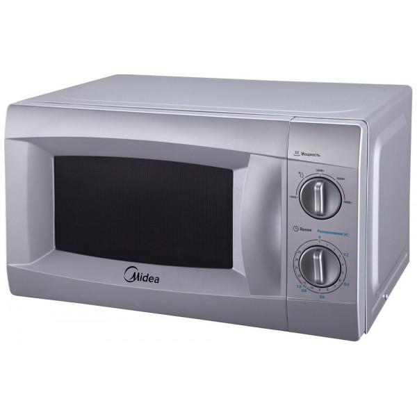 Микроволновая печь Midea MM 720 CKE-SМикроволновые печи<br><br><br>Объём, литров: 20<br>Тип: Микроволновая печь<br>Тип управления: Механическое<br>Переключатели: Поворотные
