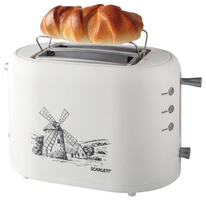 Тостер Scarlett SC-TM11003Тостеры и минипечи<br><br><br>Тип: тостер<br>Мощность, Вт.: 800<br>Тип управления: Механическое<br>Количество отделений: 2<br>Количество тостов: 2