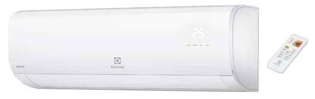 Сплит-система Electrolux EACS-09HAT/N3Кондиционеры<br><br><br>Тип: настенная сплит-система<br>Площадь охлаждения, м2: 25<br>Мощность в режиме охлаждения, Вт: 2640<br>Мощность в режиме обогрева, Вт: 2780<br>Потребляемая мощность при обогреве, Вт: 771<br>Потребляемая мощность при охлаждении, Вт: 821<br>Тип хладагента: R 410A<br>Фаза : однофазный