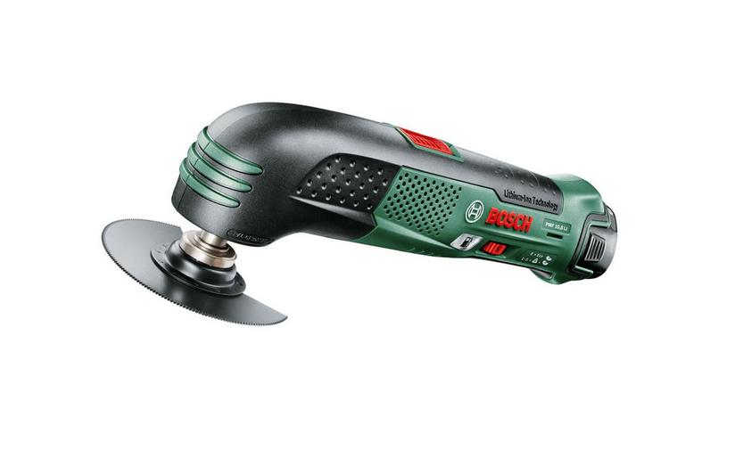 Многофункциональная шлифмашина Bosch PSM 10,8 LI [0603976923]Шлифовальные и заточные машины<br>Для увеличения площади съема при необходимости<br><br>Потребительские преимущества<br>- Система PowerAutomatic — для автоматического повышения производительности съема при увеличении нажима на инструмент<br>- Компактный, практичный и универсальный в использовании инструмент для шлифования и полирования даже в труднодоступных местах и обработки поверхностей небольшой площади<br>- Мощный литий-ионный аккумулятор &amp;#40;сменный&amp;#41; и 1-часовое зарядное устройство<br><br>Дополнительные преимущества<br>- Отсутствие саморазряда и эффекта памяти, постоянная готовность к работе...<br>