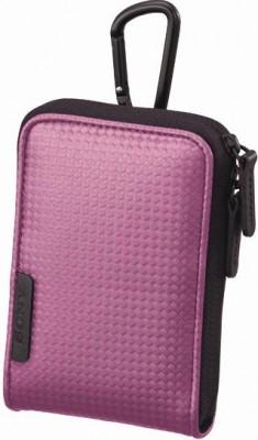 Чехол Sony LCS-CSVC PinkСумки, рюкзаки и чехлы<br>Мягкий чехол с каробином для компактных фотокамер Sony Cyber-shot™<br><br>Тип: чехол<br>Описание : искусственная кожа<br>Внешний карман: нет