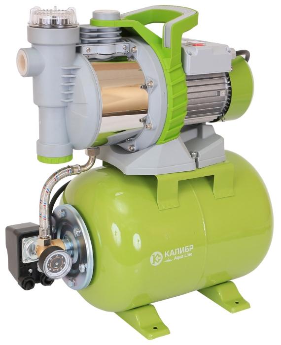 Насос Калибр СВД - 1000ФНасосы<br>Предназначена для создания автономной водопроводной сети, в которой давление воды поддерживаетя в автоматическом режиме. Станция может применяться для полива газонов, орошения садовых участков и откачки воды из ёмкостей, бассейнов и т.п.<br><br>Максимальный напор: 42 м<br>Пропускная способность: 3.6 куб. м/час<br>Напряжение сети: 220/230 В<br>Потребляемая мощность: 1000 Вт<br>Качество воды: чистая<br>Установка насоса: горизонтальная