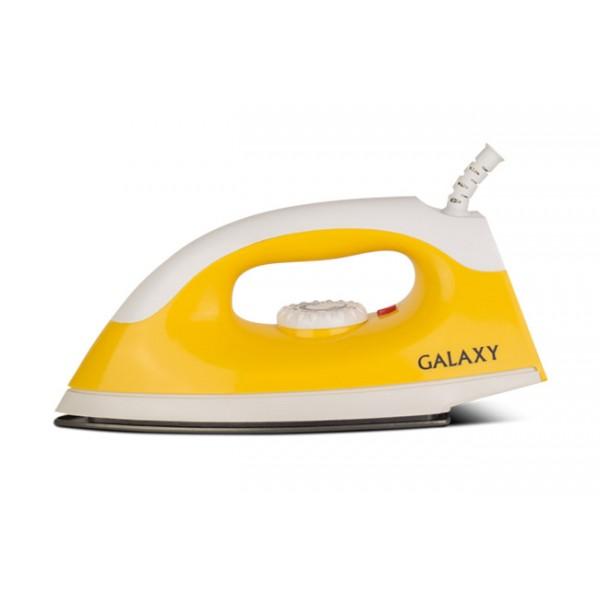 Утюг Galaxy GL 6126 YellowУтюги и гладильные системы<br>Ультрагладкие подошвы утюгов Galaxy из нержавеющей стали, с керамическим или эмалевым покрытием обеспечивают идеальное скольжение.<br>