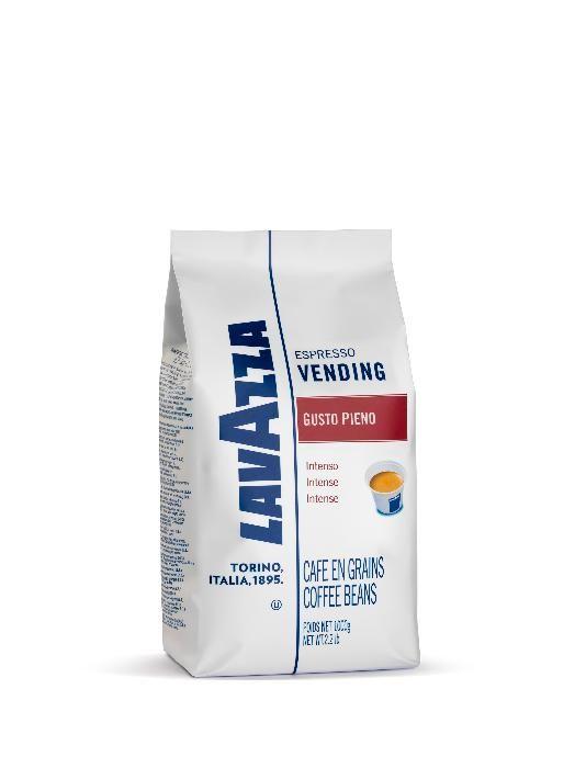 Кофе в зернах Lavazza Gusto Pieno 1000 гКофе, какао<br>Кофе в зернах Lavazza Vending Gusto Pieno - смесь арабики и робусты с интенсивным ароматом и плотной кремовой консистенцией.<br><br>Тип: кофе в зернах<br>Обжарка кофе: средняя<br>Состав: 20% Арабика/ 80% Робуста