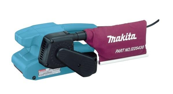 Ленточная шлифмашина Makita 9911KШлифовальные и заточные машины<br><br><br>Длина листа/ленты, мм: 457 мм<br>Ширина листа/ленты, мм: 76 мм<br>Пылесборник: есть<br>Описание: скорость протягивания ленты 75-270 м/мин