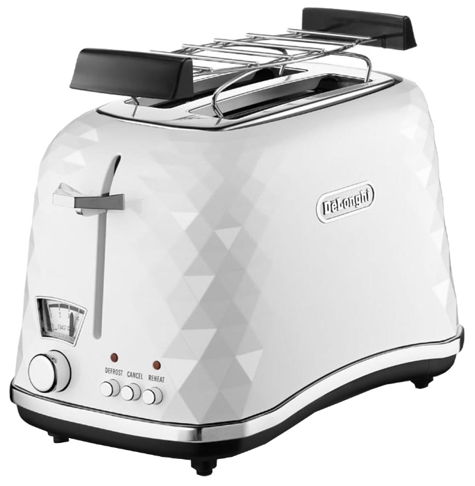 Тостер Delonghi CTJ 2103 WТостеры и минипечи<br><br><br>Тип: тостер<br>Мощность, Вт.: 900<br>Тип управления: Механическое<br>Количество отделений: 2<br>Количество тостов: 2