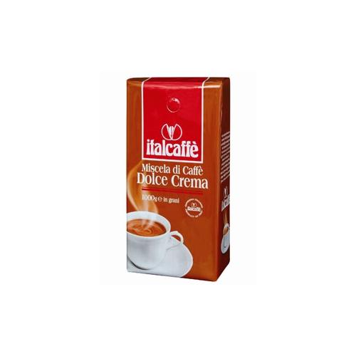 Кофе в зернах Italcaffe Dolce Crema 1 кгКофе, какао<br><br><br>Тип: кофе в зернах<br>Дополнительно: кофе с густым и горьковато-сладковатым привкусом.Отличное сочетание сортов арабики и робусты сделало эту смесь популярной среди любителей эспрессо, содержание кофеина достаточно высокое. Cостоит из 60% арабики и 40% робусты.
