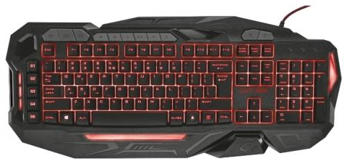 Клавиатура Trust GXT 285 Advanced Gaming Keyboard Black USB (21201)