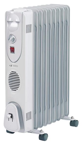 Масляный радиатор Timberk TOR 31.1606 QОбогреватели<br><br><br>Тип: масляный радиатор<br>Максимальная мощность обогрева: 1600 Вт<br>Площадь обогрева, кв.м: 8<br>Количество секций: 6<br>Каминный эффект : есть<br>Управление: механическое<br>Регулировка температуры: есть<br>Термостат: есть<br>Выключатель со световым индикатором: есть<br>Напольная установка: есть