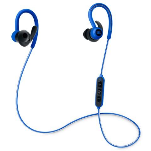 Наушники JBL Reflect Contour BlueНаушники и гарнитуры<br>Спортивные наушники JBL Reflect Contour разработаны специально для спортсменов и людей, которые не представляют свою жизнь без активного движения. Они очень прочно фиксируются в ушах человека за счёт применения амбушюров особой формы Dual Lock, а также выдерживают попадание капель пота и влаги в любую точку корпуса. Светоотражающий кабель обеспечивает безопасность пробежек в тёмное время суток. <br><br>БЕСПРОВОДНОЕ ПОДКЛЮЧЕНИЕ<br>Больше не нужно путаться в наушниках после активного занятия спортивными упражнениями – они подключаются к источнику звука с помощью...<br><br>Тип: гарнитура<br>Вид наушников: Вставные<br>Тип подключения: Беспроводные<br>Диапазон воспроизводимых частот, Гц: 10 - 22000<br>Микрофон: есть