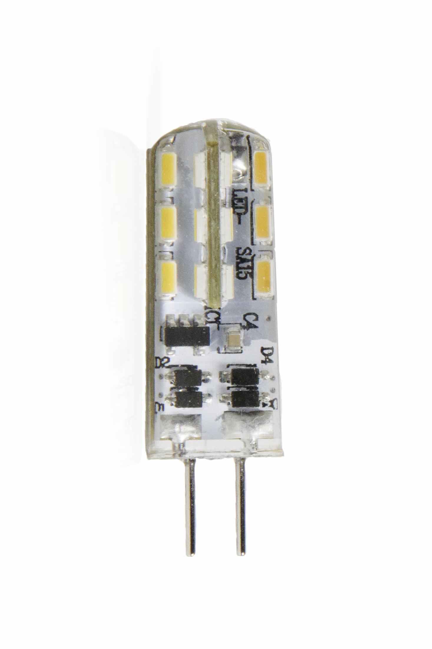 Светодиодная лампа Виктел BK-4B2ЕЕТ, G4, 2Вт, 3000K, 360градусов, 12VСветодиодные лампы<br><br><br>Тип цоколя: G4<br>Рабочее напряжение, В: 12<br>Мощность, Вт: 2<br>Мощность заменяемой лампы, Вт: 25<br>Световой поток, Лм: 190<br>Цветовая температура, K: 3000<br>Угол раскрытия, °: 360