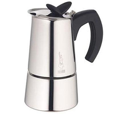 Кофеварка Bialetti Musa 10 п. 1745Кофеварки и кофемашины<br><br><br>Тип : гейзерная кофеварка<br>Тип используемого кофе: Молотый<br>Объем, л: 0,4<br>Материал корпуса  : Металл