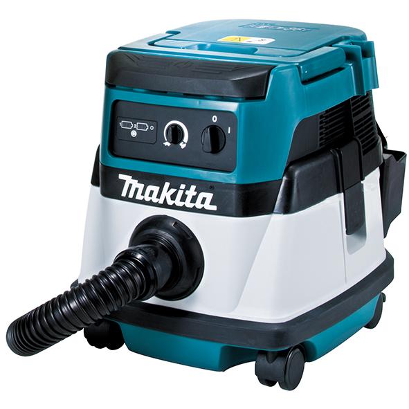 Пылесос Makita DVC860LZПылесосы<br>Аккумуляторный пылесос Makita DVC 860 LZ:<br><br>- Универсальное использование благодаря 2 различным источникам питания<br>- Высокая маневренность &amp;#40;при работе от аккумулятора&amp;#41;<br>- Высокая мощность &amp;#40;при работе от сети&amp;#41;<br>- Работа в режиме сухого и влажного всасывания<br><br>Тип: Строительный пылесос<br>Потребляемая мощность, Вт: 1<br>Тип уборки: Сухая\влажная<br>Регулятор мощности на корпусе: Есть<br>Пылесборник: Контейнер<br>Емкостью пылесборника : 8 / 6 л