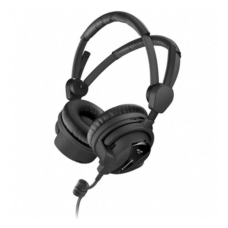 Наушники Sennheiser HD 26 PROНаушники и гарнитуры<br>Новая модель охватывающих уши наушников из профессиональной линейки Sennheiser готова удовлетворить все запросы работающих со звуком профессионалов.<br><br>Тип: наушники<br>Вид наушников: Накладные<br>Тип подключения: Проводные<br>Диапазон воспроизводимых частот, Гц: 20 - 18000<br>Сопротивление, Импеданс: 100