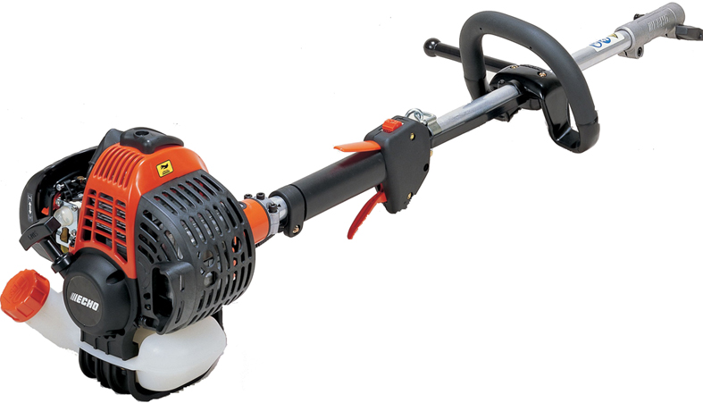 Триммер ECHO PAS-265ESГазонокосилки и триммеры<br>Мультитриммер бензиновый &amp;#40;двигатель&amp;#41; ECHO PAS-265ES – японский, универсальный. С помощью насадок он может много чего сделать в саду-огороде или на приусадебном участке. Косить траву, выкашивать сорняки, культиватор, стрижка газонов, триммер, кусторез с установкой угла среза. Работает на сухой и мокрой траве. Всего входят 9-ть насадок-инструментов в комплектацию. <br><br>Двигатель двухтактный, бензиновый, 25,4 кубовый, мощностью 1,21 л.с. &amp;#40;890 Ватт&amp;#41;. Двигатель малошумный, легко запускается в любое время года &amp;#40;электронная система запуска C.D.I.&amp;#41;, диафрагменный...<br><br>Тип: триммер<br>Ширина скашивания, см: 51<br>Мощность двигателя (Вт): 895<br>Мощность двигателя (л.с.): 1.2