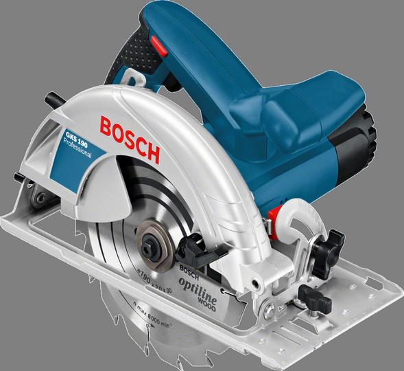 Дисковая пила Bosch GKS 190 [0601623000]Пилы<br><br><br>Тип: дисковая<br>Конструкция: ручная<br>Мощность, Вт: 1400<br>Функции и возможности: торможение двигателя
