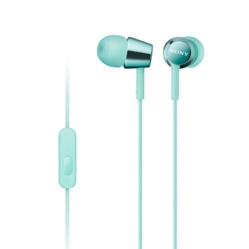 Наушники Sony MDR-EX155AP BlueНаушники и гарнитуры<br>- Компактность и высокое качество звука<br>Высокочувствительные 9-миллиметровые динамики в компактном корпусе обеспечивают четкое звучание верхних частот и мощные басы.<br><br>- Встроенный пульт и микрофон для звонков в режиме гарнитуры<br>Отвечайте на звонки в режиме гарнитуры и переключайте треки, не прикасаясь к смартфону, — это возможно благодаря встроенному в кабель пульту управления и микрофону.<br><br>- Устойчивый к спутыванию кабель<br>Устойчивый к спутыванию и перекручиванию рифленый кабель обеспечивает комфорт при использовании наушников.<br><br>- Вкладыши...<br><br>Тип: гарнитура<br>Вид наушников: Вставные<br>Тип подключения: Проводные<br>Диапазон воспроизводимых частот, Гц: 5 - 24000<br>Микрофон: есть